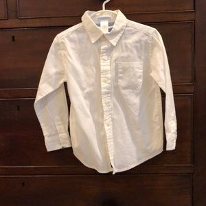 Janie and Jack boys long sleeve button down